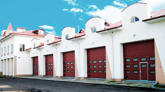 Купить гаражные ворота подъемные в Лесном городке