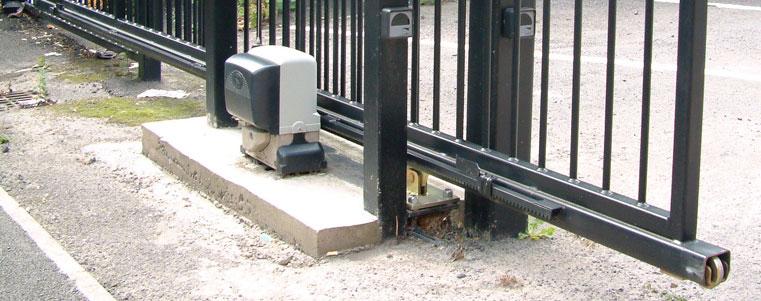 Электропривод своими руками для откатных ворот