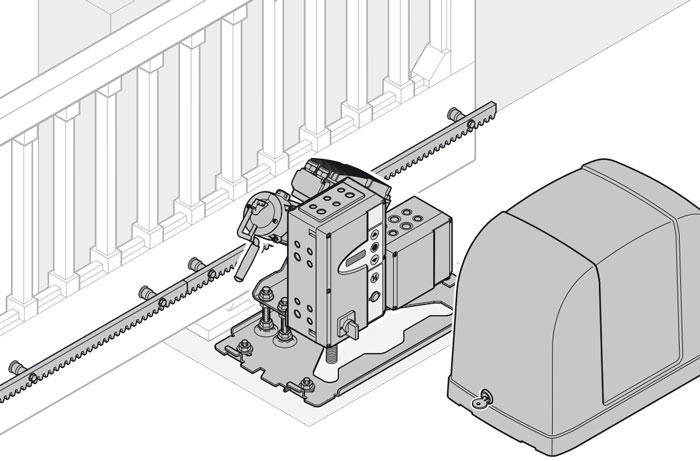 Зубчатая профиль для электро привода откатных ворот ворота из профнастила фото заказать в белорецке