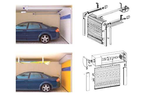 Ворота для гаража рольставни своими руками