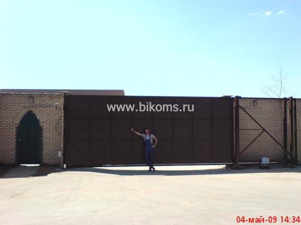 Рольставни на двери бикомс